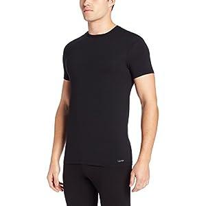 Calvin Klein Men's Body Modal Short Sleeve Crew Neck T-Shirt, Black, Extra-Large