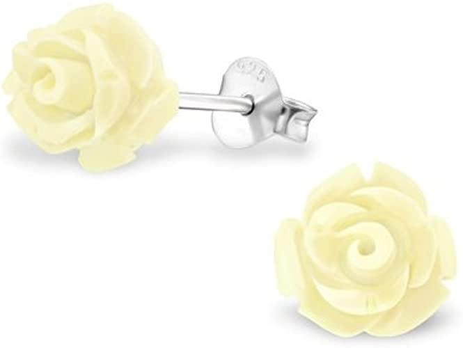 Girls Pizza Colorful Ear Studs 925 Sterling Silver