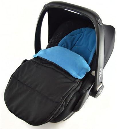 Fácil de poner y quitar.,El saco se abre para hacer un forro de asiento.,Acolchado suave con forro p