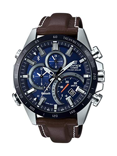 Casio EQB501XBL-2A Edifice Men's Watch Brown 44.4mm Stainless Steel