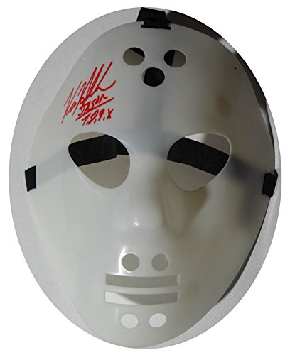 [Signed Kane Hodder Friday 13th Jason Vorhees Autographed Mask W/pics] (Jason Vorhees Masks)