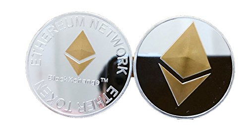 Ether Token (set of 2) Coins Crypto Currency for Ethereum Network