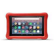 Amazon Kid-Proof Case for Amazon Fire HD 8 Tablet (Compatible with 7th and 8th Generation Tablets, 2017-2018 Releases), Punch Red