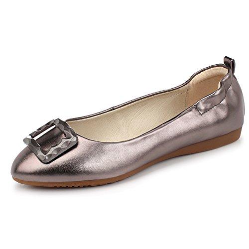 Zapatos de moda/Zapatos de tacón plano/Rollo de huevo dulce cómodo zapatos/Zapatos de arco C