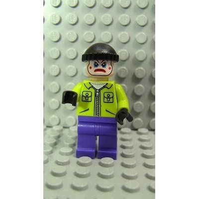 LEGO Minifig Super Heroes_020 The Joker's Henchman_A: Toys & Games