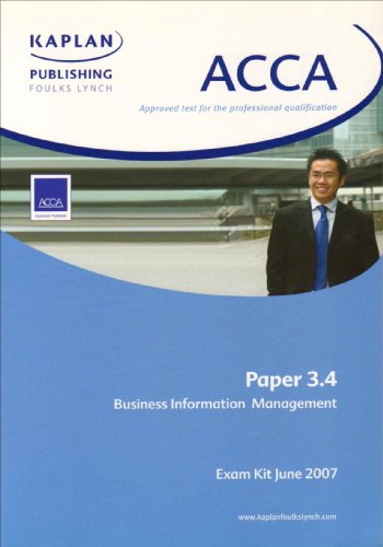 Business Information for Management (ACCA Exam Kit)