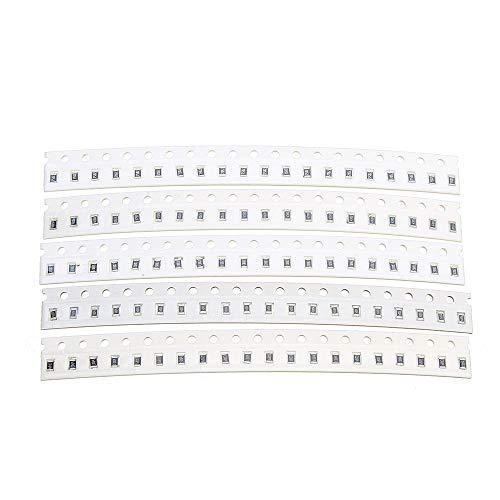 Amazon.com - 0805 SMD Resistor Kit Assorted Kit 1ohm-1M ohm 1% 33values 20pcs=660pcs Sample Kit Resistor Pack