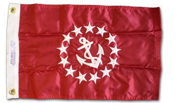"Vice-Commodore - 24"" x 36"" Nylon Nautical Officer Flag"