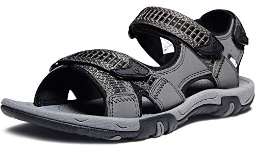 ATIKA Men's Sport Sandals Maya Trail Outdoor Water Shoes, Havana(m113) - Dark Grey, 7