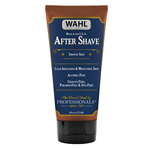 Wahl After Shave, 6 Ounce Moisturizing After Shave, Paraben-Free, Phthalate-Free, Cruelty-Free (#805610A)