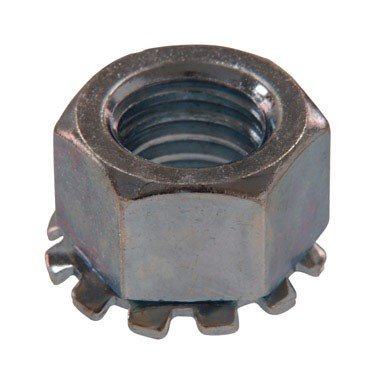 The Hillman Group 180282 Keps Lock Nut, 1/4-Inch by 20-Inch, 100-Pack