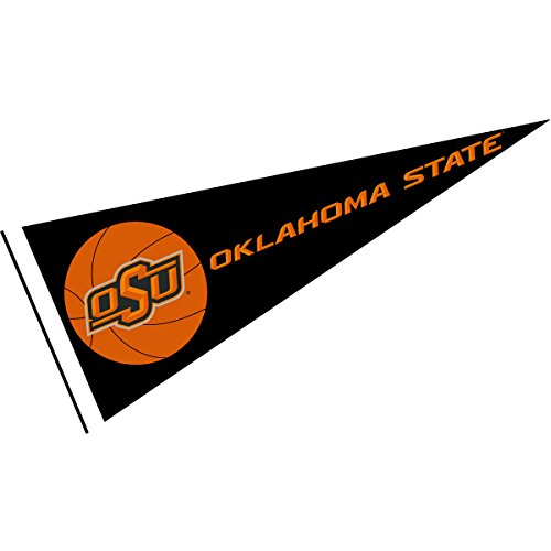 College Flags and Banners Co. OSU Cowboys Basketball Pennant - Oklahoma State Basketball Team