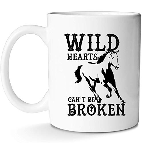 Western Horse Mug Horse Running Jumping Prancing Kicking Coffee Cup for Mom Dad Girls Boys Kids Gift Horse Life Lovers With Prime by Mugish 11oz ()