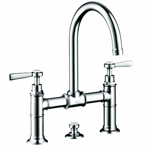 AXOR AXOR Montreux  Classic 2-Handle  13-inch Tall Bathroom Sink Faucet in Chrome, 16511001