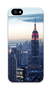iPhone 5S Cases & Covers - Top of the City Custom Design iPhone 5S/5 Protective Case Cover - Polycarbonate