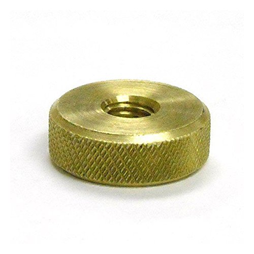 Replacement Knurled Brass Nut - Brass Mandrel
