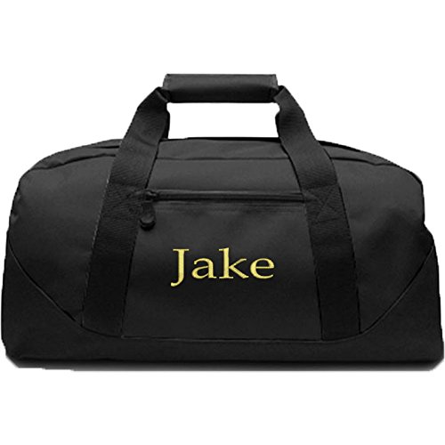 KYS Personalized Canvas Duffel Bag (Black) Review