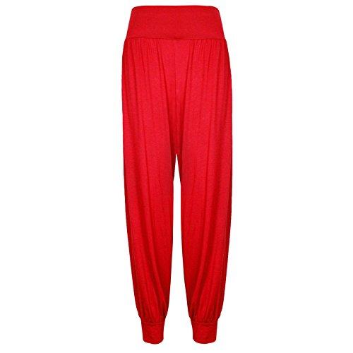 Pour Hanger Bouffant Élastique Red Femmes De Pantalon Ceinture Sarouel Purple Survetement Neuf ZwB4xqq