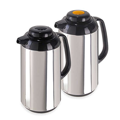 Oggi Connoisseur Push Button Thermal Vacuum Carafes (Set of 2)