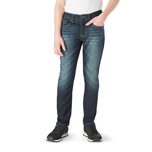 (Signature by Levi Strauss & Co. Gold Label Boys Athletic Fit Jeans, Grande, 10)