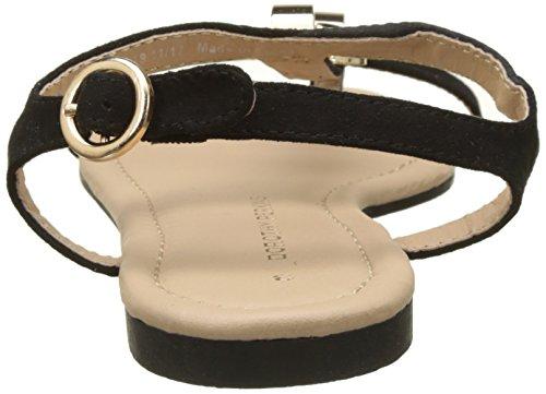 Famous Ouvert Ring Black Bout Sandales Perkins Femme 130 Dorothy Noir wUqBvZ5