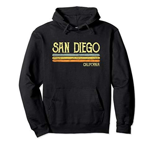 (Vintage San Diego California Ca Hoodie Love Gift Souvenir)