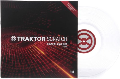 Native Instruments Traktor Scratch Control Vinyl MK2 - Clear (Single Vinyl)