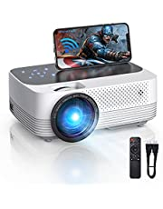 VicTsing Mini Wifi Projector , 1080P Portable Projectors with Touch Screen and Dual Speakers , Suitable for Home&Outdoor iOS/Android Devices
