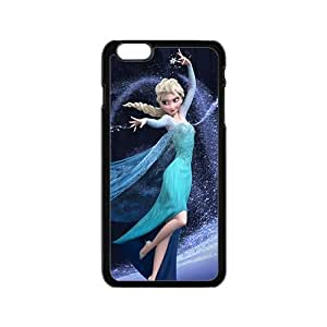 diy zhengFrozen lovely girl Cell Phone Case for iPhone 6 Plus Case 5.5 Inch
