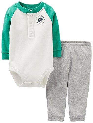 Carter's Baby Boys' 2 Piece Layette Set (Baby) - Alll Star - 6 Months