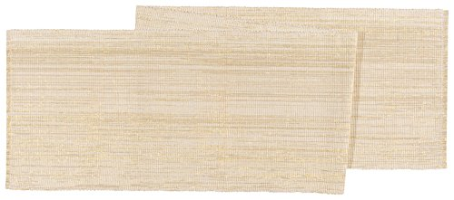 Now Designs 13 by 72 inch Tablerunner, Dazzle Gold (Ideas Banquette)