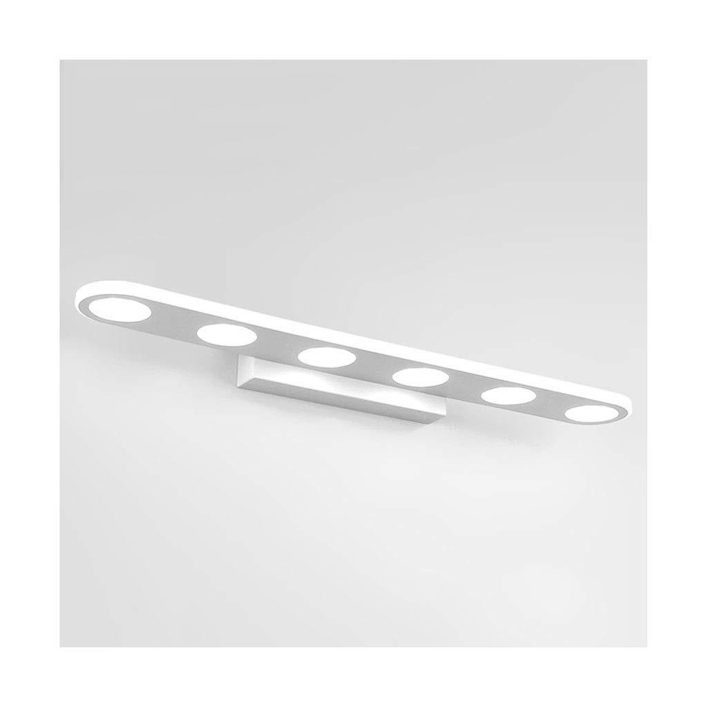 @Badezimmer Lichter Spiegel Frontleuchte LED Acryl Spiegel Kabinett Licht Badezimmer Feuchtigkeitsfest Make-Up Lampe Wandleuchte Deckenleuchte (Farbe   Positive Weiß light-37cm)