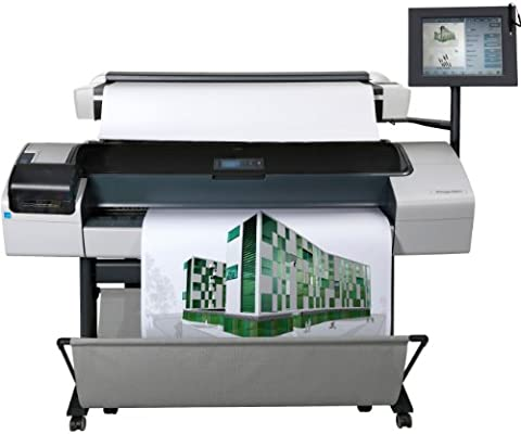 HP Impresora multifunción HP Designjet T1200 HD - Impresora de ...