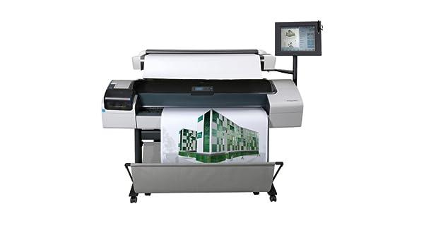 HP Impresora multifunción HP Designjet T1200 HD - Impresora de gran formato (Adobe PostScript® 3, Adobe PDF 1.7, TIFF, JPEG, HP-GL/2, HP-RTL, CALS G4, HP PCL 3 GUI, Cyan, gris, magenta, negro