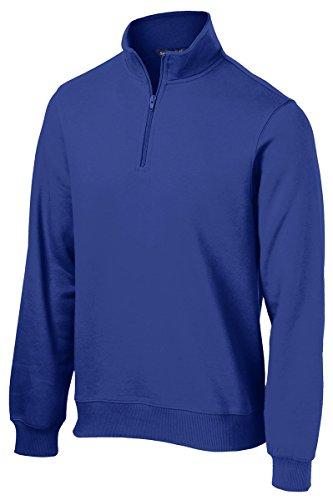 Sport-Tek Men's 1/4 Zip Sweatshirt M True - Tek Fleece Gear
