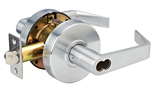 Master Lock SLCICKE26D Heavy Duty Lever Style, Grade 2 Commercial SFIC Keyed Entry Door Lock