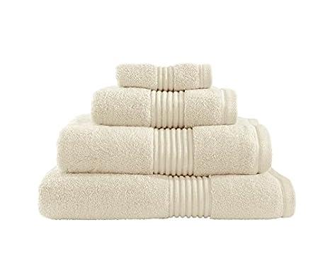 Catherine Lansfield Zero Twist toalla para la cara, 30 x 30, color crema.: Amazon.es: Hogar