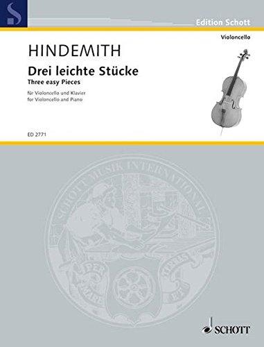 Three Easy Pieces: Cello and ()