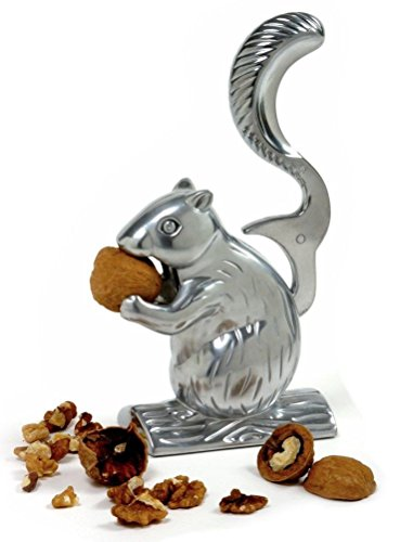 Sunnyfly 6529 Davy Crackit Squirrel Nutcracker Crack Almonds Pecans (Squirrel Nutcracker)