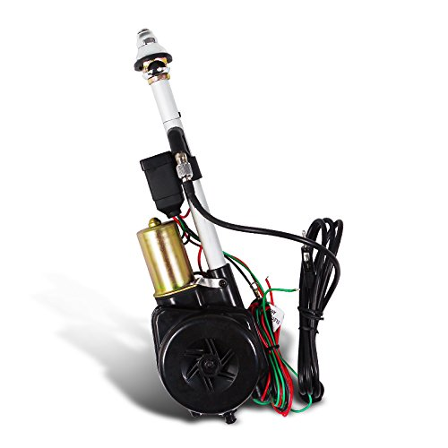 Spec-D Tuning ANT-105A 12V Power Am Fm Radio Antenna Mast Replacement Kit, Wiring, - Replacement Nissan 1995 Pathfinder
