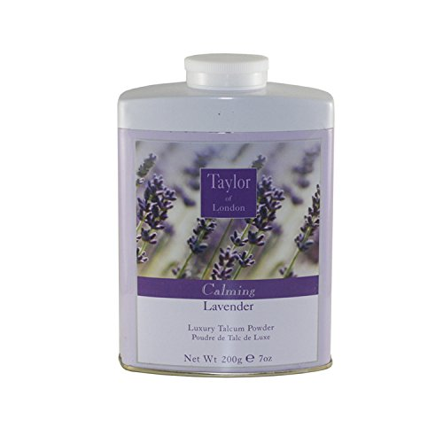 (Taylor Of London Lavender Luxury Talcum Powder for Women, 7 Ounce )