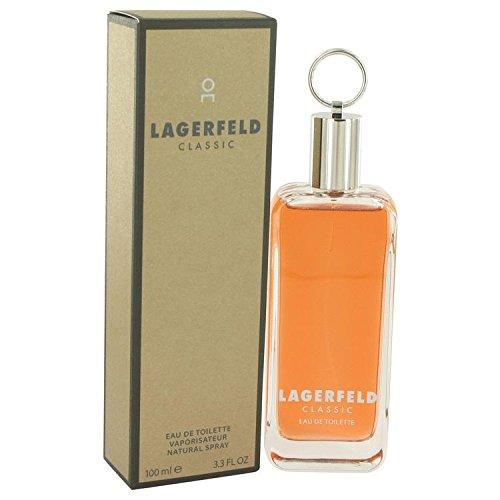LAGERFELD by Karl Lagerfeld Eau De Toilette Spray 3.3 oz for Men - 100% Authentic