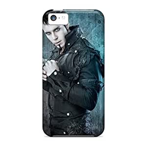 Apple Iphone 5c YwO1708tRMO Customized Vivid Kamelot Band Image Shock Absorption Hard Phone Covers -TimeaJoyce