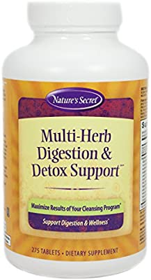 Multi Herb Digestion & Detox Support by Nature