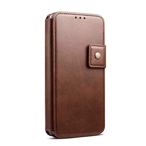 Flip Case for iPhone 11 Pro Max Coffee PU Leather Wallet Cover (CompatibleiPhone 11 Pro Max)