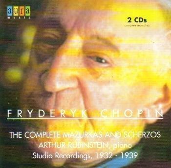 Price comparison product image Chopin: The Complete Mazurkas & Scherzos (Studio Recordings, 1932-1939) by Arthur Rubinstein