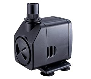 Jebao PP399 Submersible, Hydroponics, Aquaponics, Fountain Pump 264GPH, 18W Garden, Lawn, Supply, Maintenance