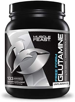 L-Glutamine Muscle Recovery Supplement – Muscle Feast – 800g Powder