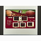 Florida State Seminoles Scoreboard Desk Clock