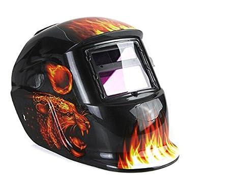 paracity Casco de soldar con oscurecimiento automático ARC TIG MIG Soldadura Soldador lente Máscaras de molienda: Amazon.es: Bricolaje y herramientas